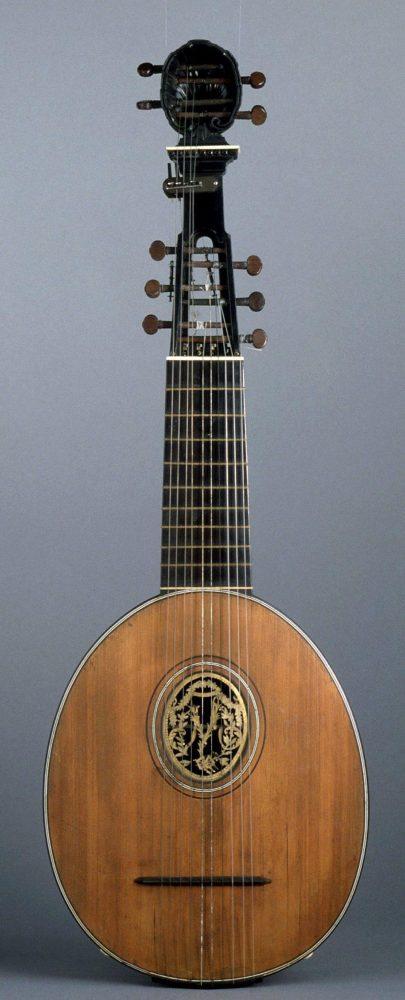 Caron, guitare decacorde 1785